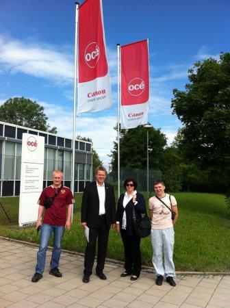 Студенты-победители в Германии