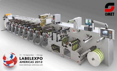 Omet XFlex X6 на LabelExpo